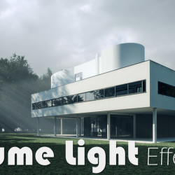 Cómo crear luces volumétricas con V-Ray y 3ds Max