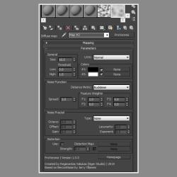 Scripts para 3ds Max | Advanced 3D Texmap Noise