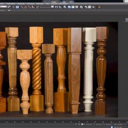 Cómo modelar piezas de mobiliario mediante rotación