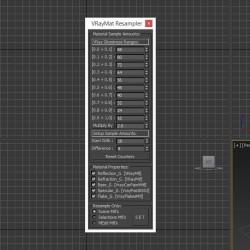 Scripts para 3ds Max | VRayMat Resampler