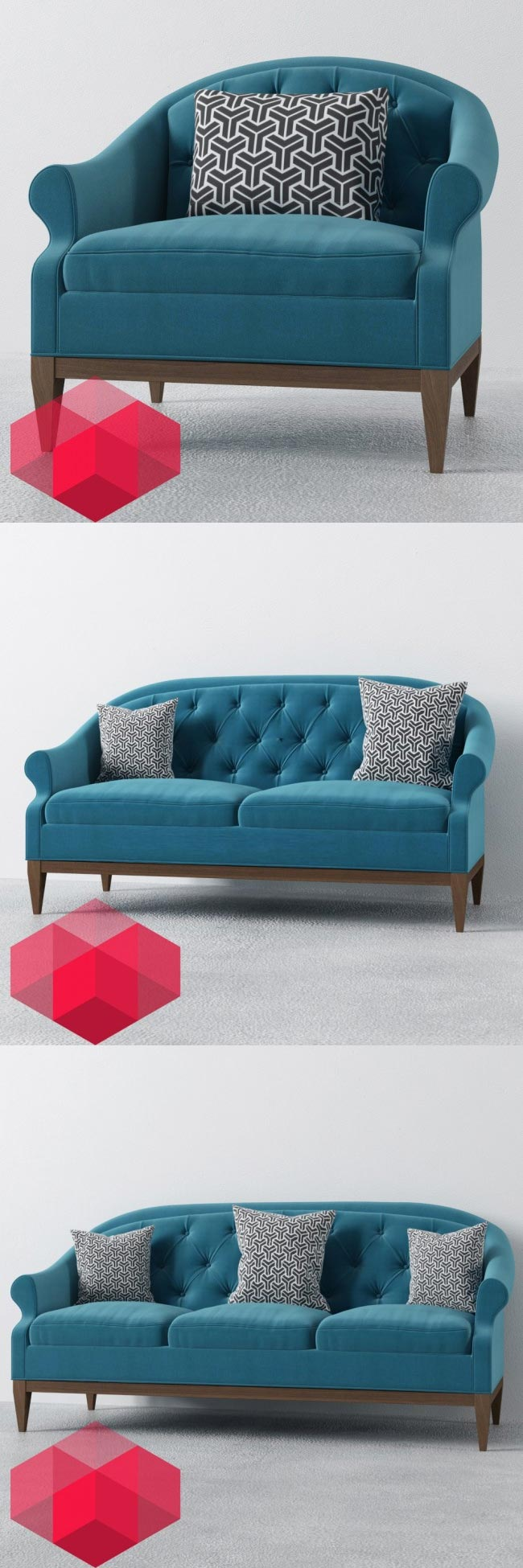 RedHome_visual_free_3d_models_sofas
