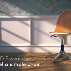 Cómo modelar una silla en Cinema 4D