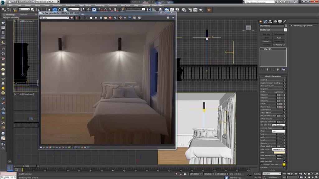 C mo usar luces ies en 3ds max ejezeta - 3ds max vray exterior lighting tutorials pdf ...