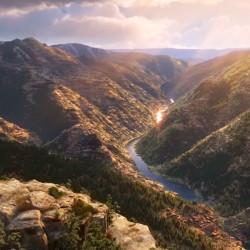 """La generación de entornos naturales en """"The Good Dinosaur"""""""