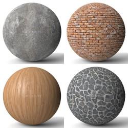 Texturas repetibles de alta calidad para 3D