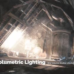 Luces volumétricas con Blender