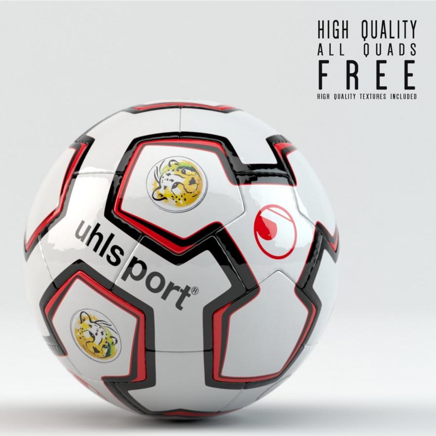 pelota_balo_de_futbol_modelo_3d_gratis