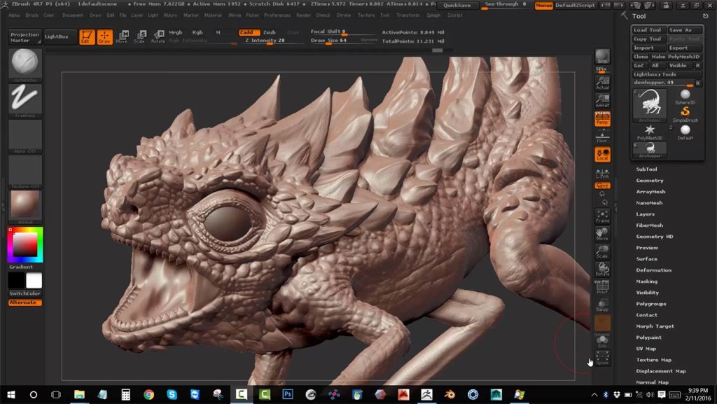 Learn-how-to-easily-exaggerate-details-in-Zbrush