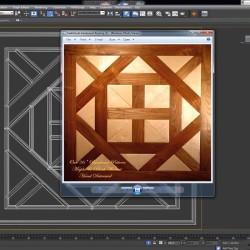 Cómo crear una textura de parquet con 3ds Max y Photoshop