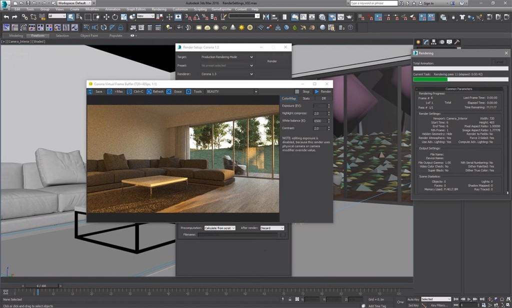 corona_renderer_secondary_gi_portals_tutorial