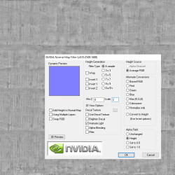 Normals con NVIDIA Normal Map Filter