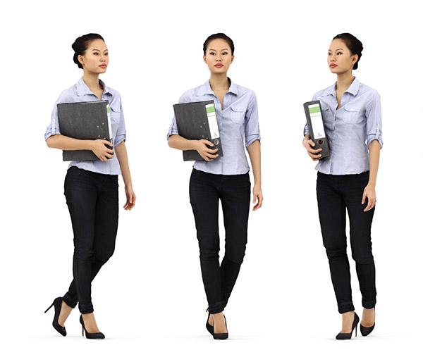 Modelos 3d gratis ccxxxiv mujer escaneada en 3d ejezeta for Rendering 3d gratis