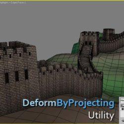 Scripts para 3ds Max | DeformByProjecting