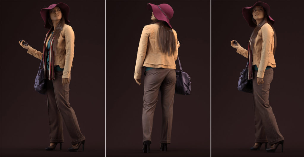 human_alloy_3d_scanned_woman_free_model