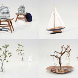Modelos 3D Gratis CCLIV | Objetos decorativos