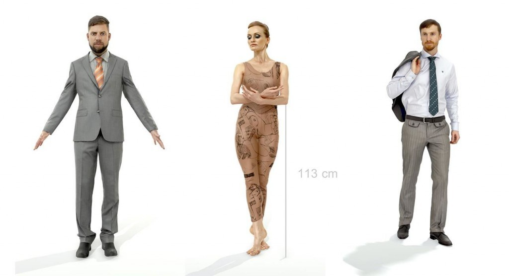 axyz_design_free_3d_scanned_people_pack