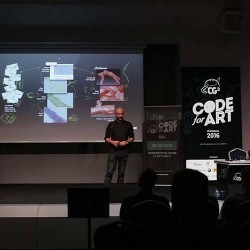Evermotion en la CG2 Code for Art Conference 2016
