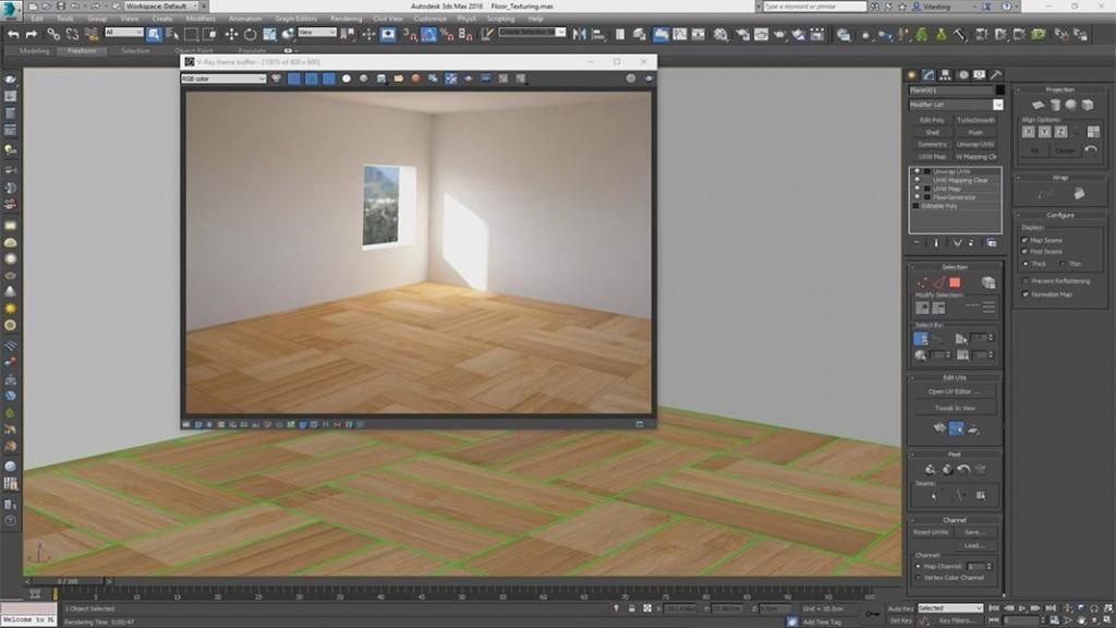 3ds Max Floor Generator Script - blackshopping's diary