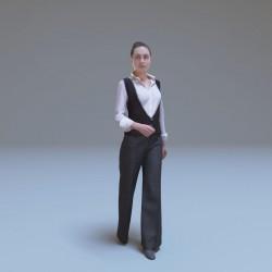 Modelos 3D Gratis CCXCV | Mujer escaneada en 3D