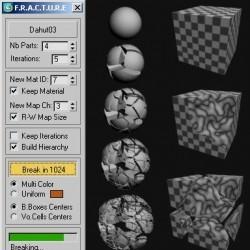 Scripts para 3ds Max | Fracture Voronoi