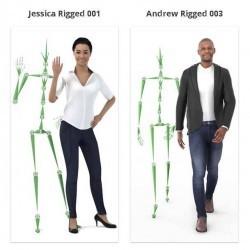 Modelos 3D Gratis CCLXXX | Personas