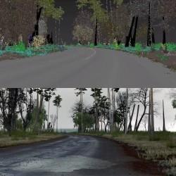 Creando entornos paramétricos con Forest Pack