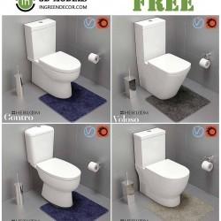 Modelos 3D Gratis CCCI | WC's