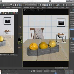 Cómo funciona la Physical Camera de 3ds Max