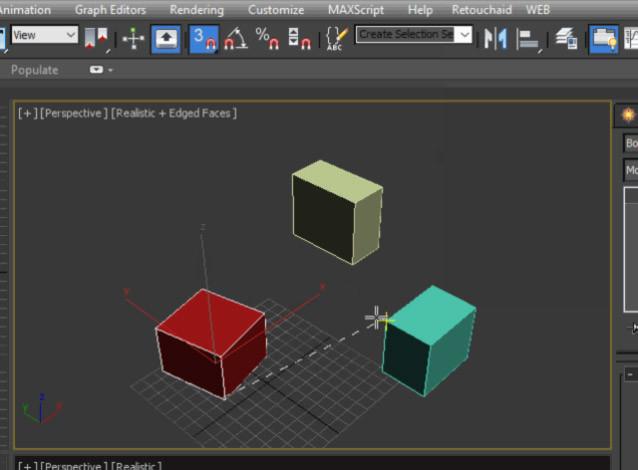 Scripts para 3ds Max | Reference Rotation | ejeZeta