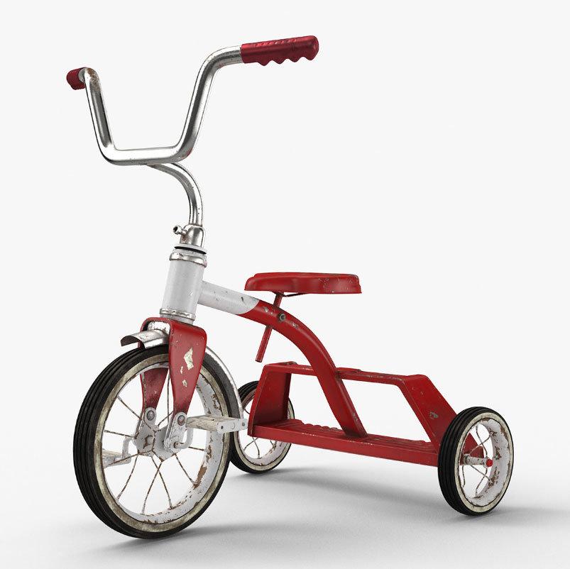 Modelos 3d Gratis Cclxxxix Triciclo Ejezeta