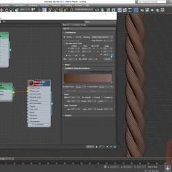 Cómo crear cuerdas procedimentales con 3ds Max