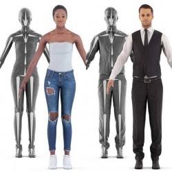 Modelos 3D Gratis CCCXXIII | Personas escaneadas en 3D