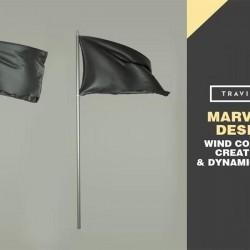 Como simular prendas movidas por viento en Marvelous Designer
