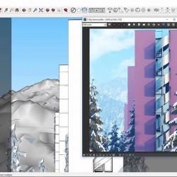 Iluminación ambiental y perspectiva aérea en V-Ray para SketchUp