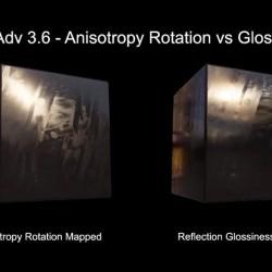 Cómo funciona la anisotropía en V-Ray