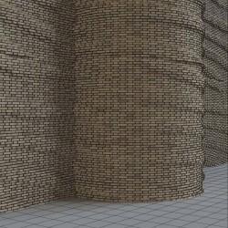 Cómo crear muros de ladrillo curvo en 3ds Max