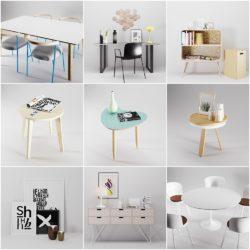 Modelos 3D Gratis CDXIV   Mix de objetos