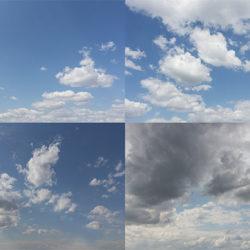 10 Imágenes de cielos para post-producción