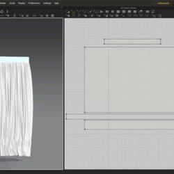 Cómo crear cortinas con Marvelous Designer
