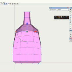 Cómo modelar con quads en SketchUp