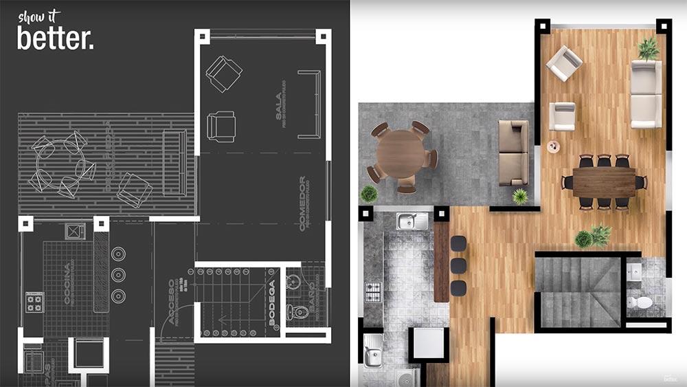 C mo mostrar de mejor forma tus planos de arquitectura con for Planos de arquitectura