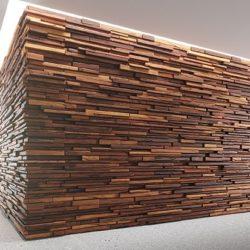 Modelos 3D Gratis CDXXVIII | Panel revestido en madera