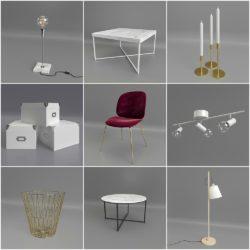 Modelos 3D Gratis CDXXVI | Mix de objetos
