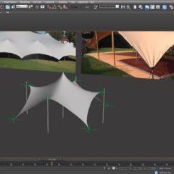Cómo modelar estructuras tensadas en 3ds Max