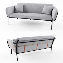 Modelos 3D Gratis CDXXXIII | Sofá Valet Love Seat