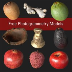 Modelos 3D Gratis CDXXXVII | Frutas y verduras escaneadas en 3D