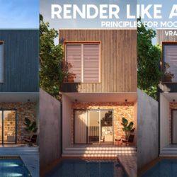 Trucos para renderizar escenas exteriores con VRaySun