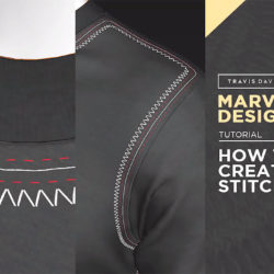 Cómo crear costuras con Marvelous Designer 7