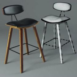 Cómo modelar y texturizar una silla con 3ds Max y Unfold3D