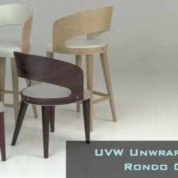 Tutorial de modelado y mapeado de la silla Rondo